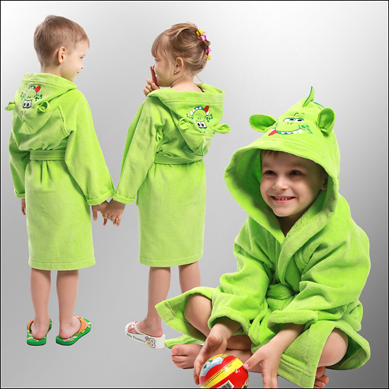 Детские халаты своими руками фото